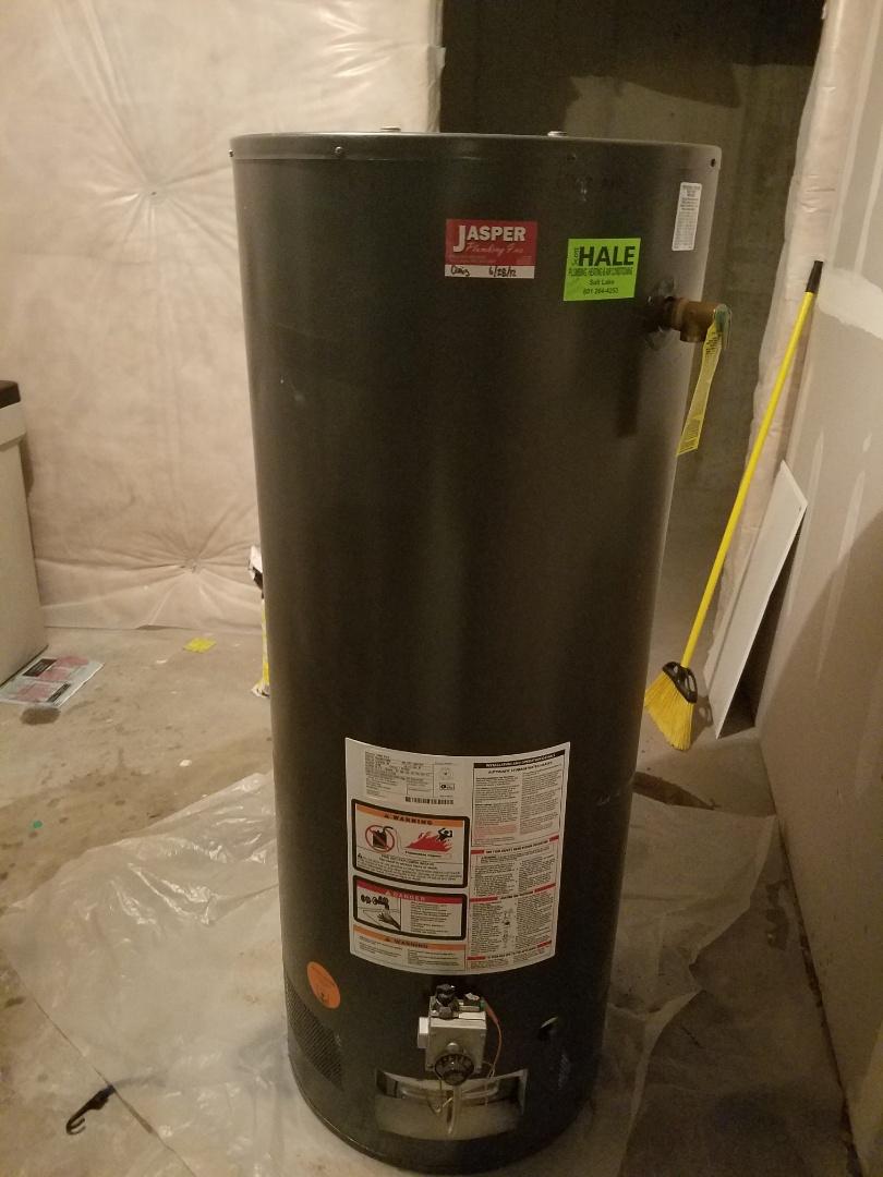 South Jordan, UT - Water heater replacement