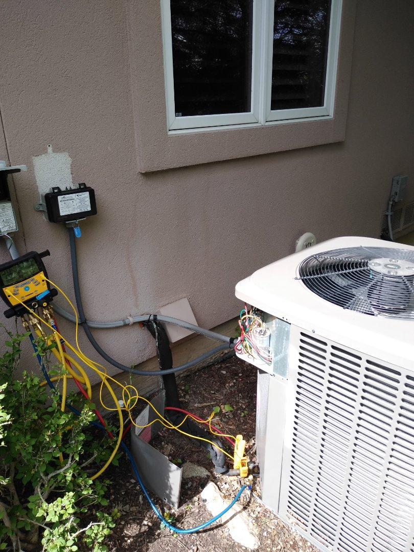 Cottonwood Heights, UT - AC tune-up on York air conditioner