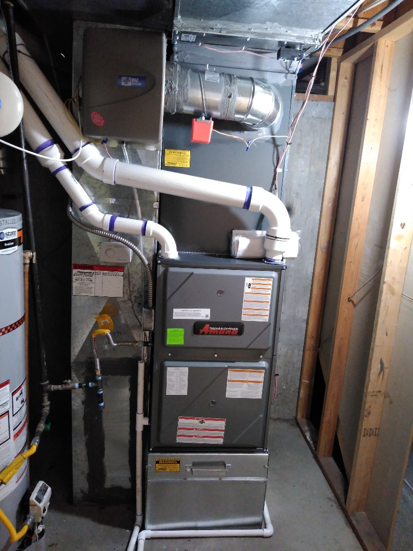 Murray, UT - Replace furnace and AC and install zoning system