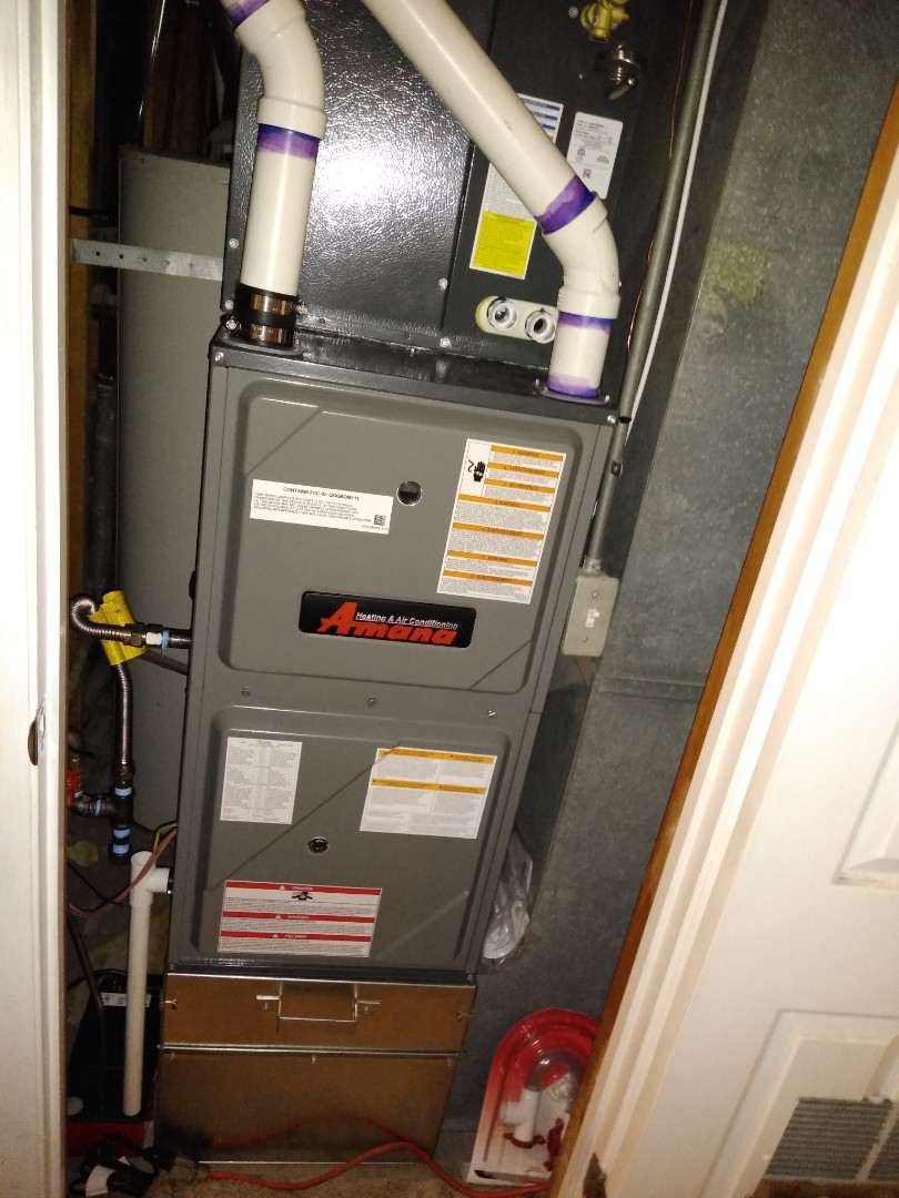 Taylorsville, UT - Replace 80 % furnace with new 96% high efficiency Amana
