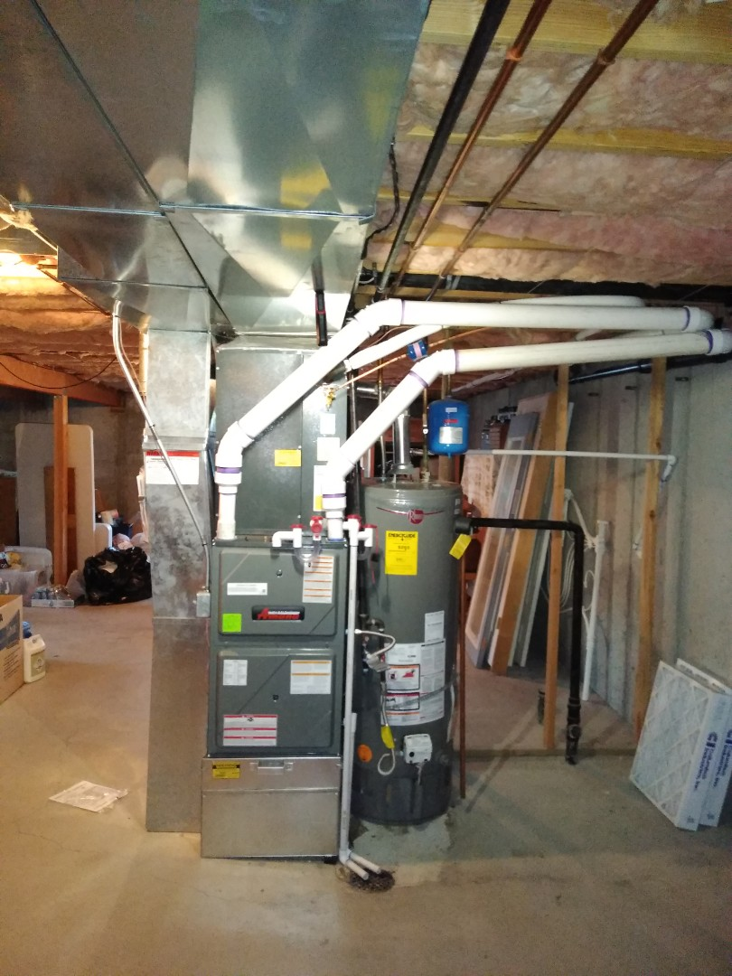 Draper, UT - Installing high efficiency Amana system
