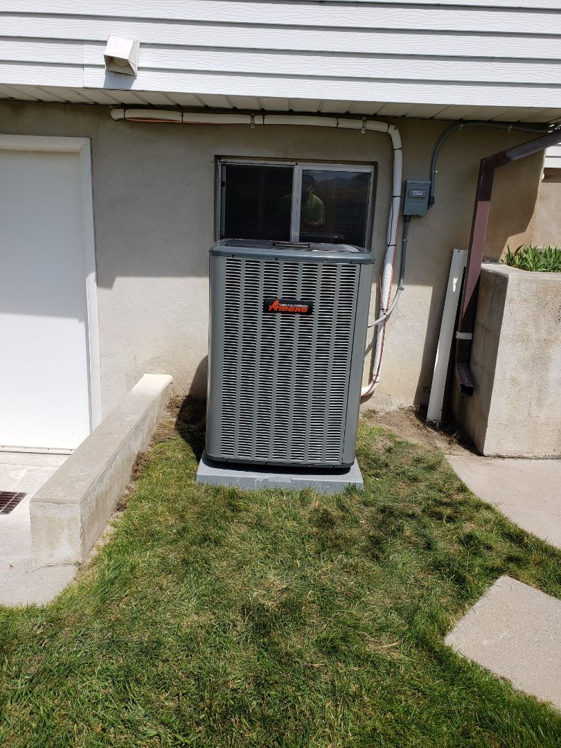 Murray, UT - Installed Amana AC