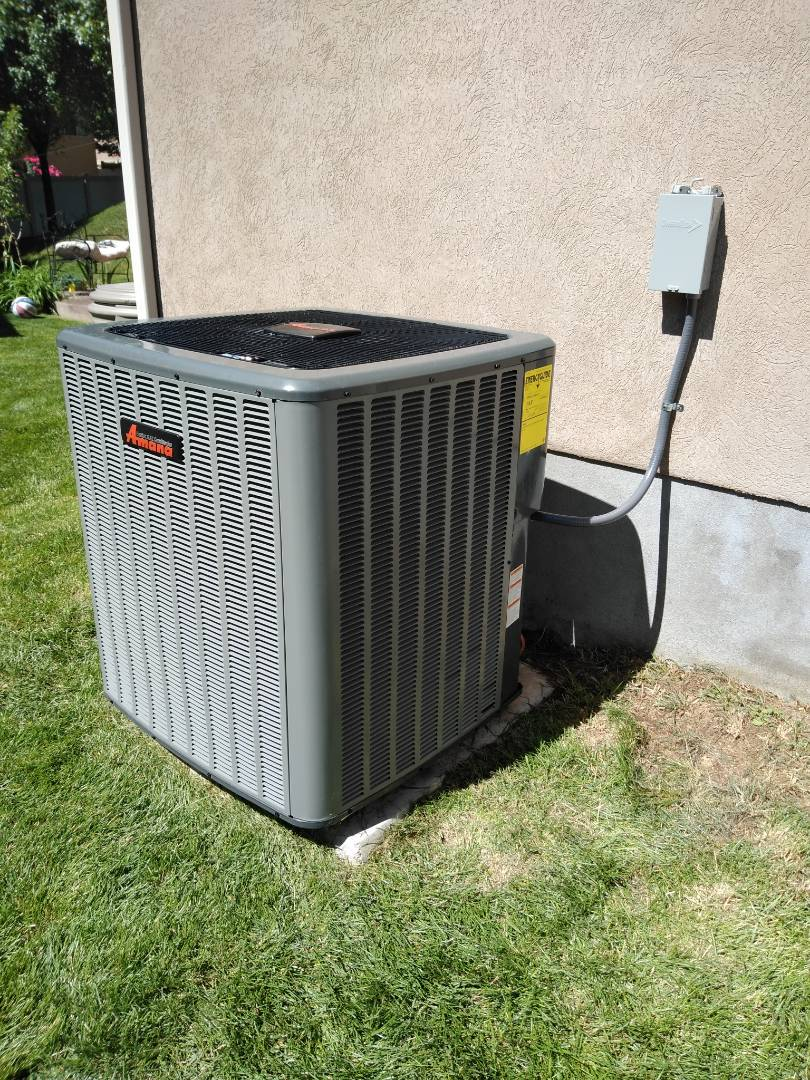 South Jordan, UT - Replace furnace and AC with new high efficiency Amana system