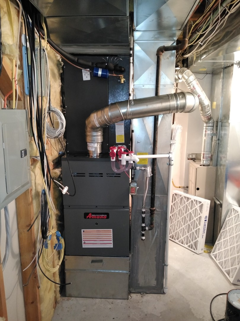 West Jordan, UT - Furnace and AC replacement with new Amana system