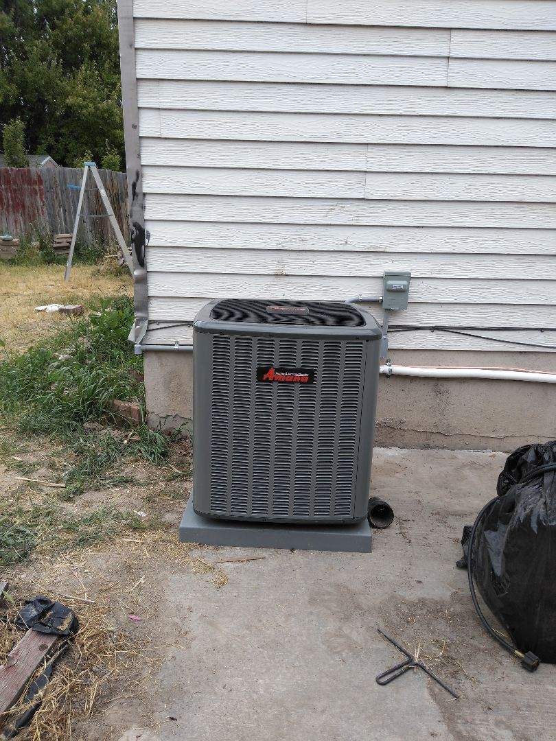 West Jordan, UT - Install new AC and coil