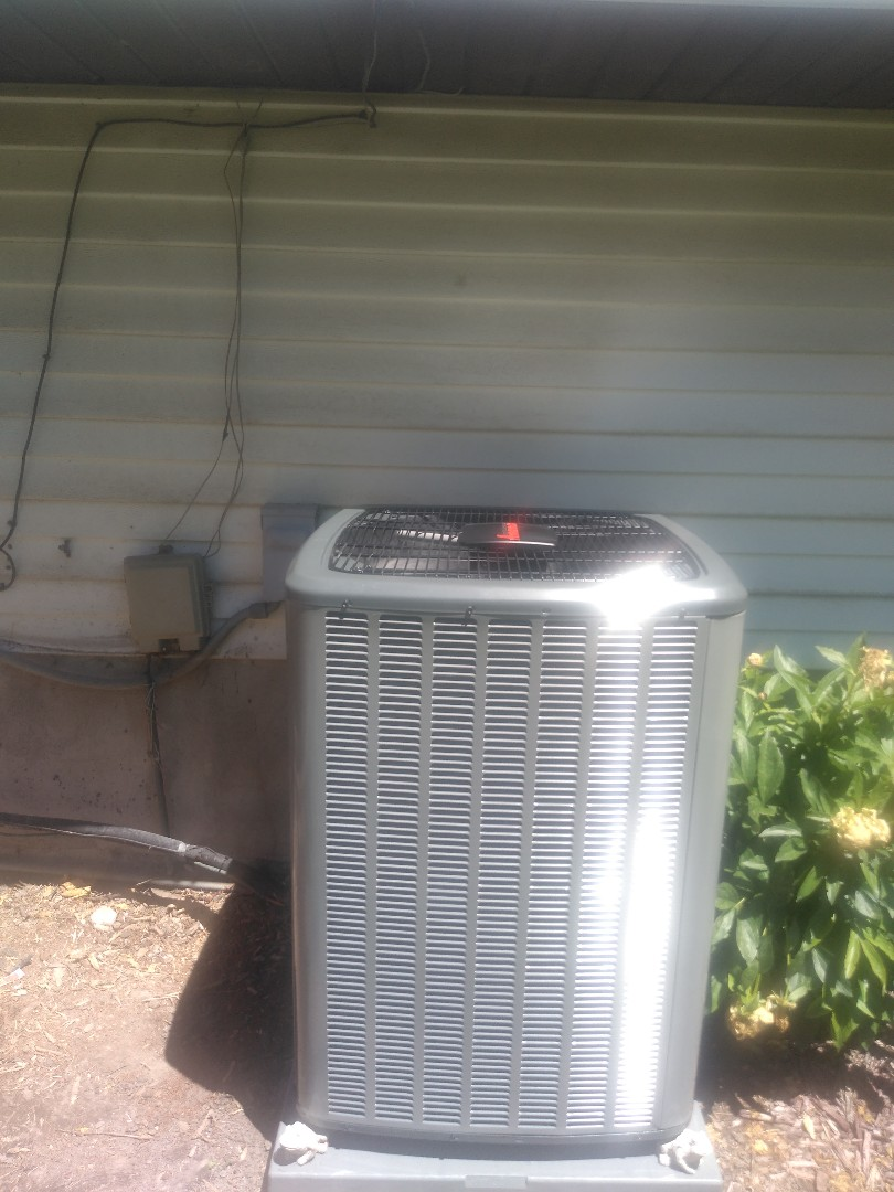 West Jordan, UT - Installed new Amana AC