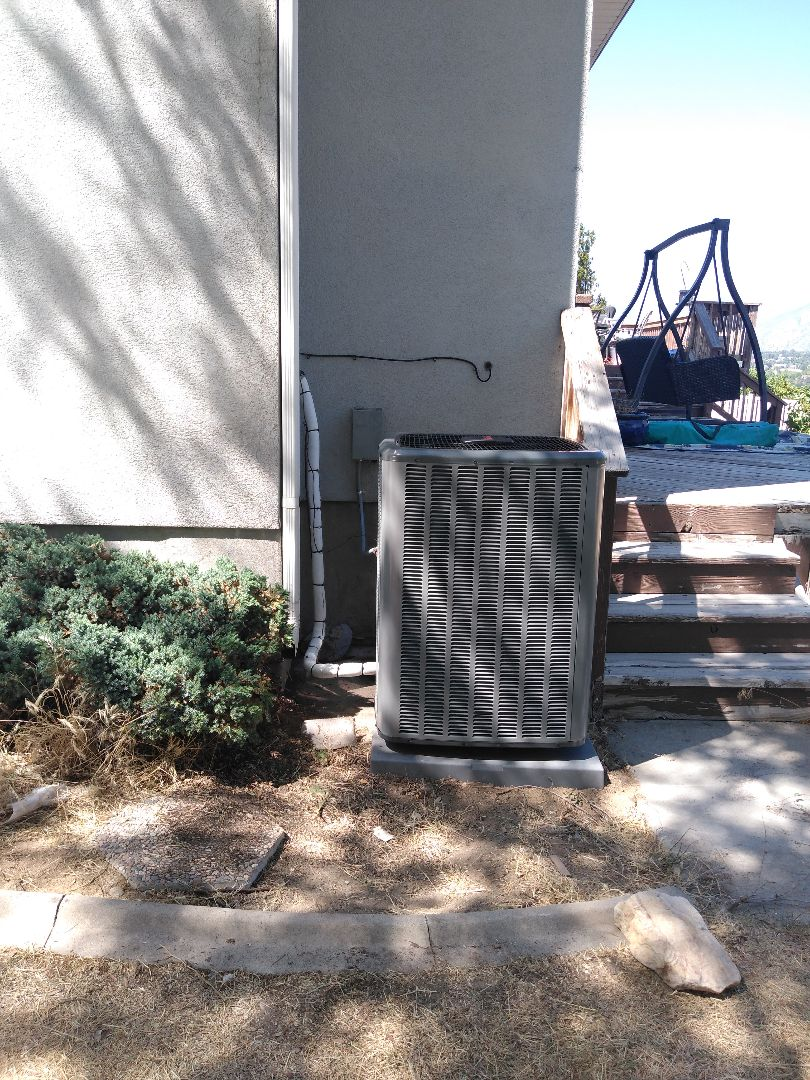 Sandy, UT - Installed new Amana AC and Coil