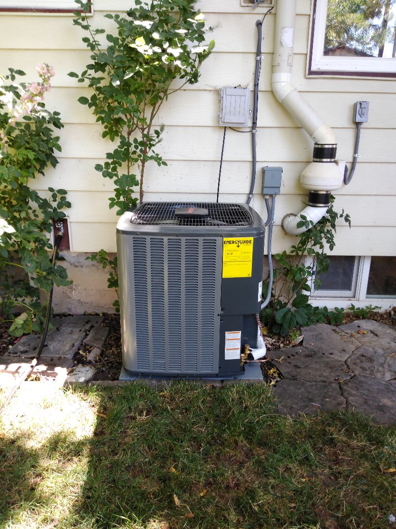 Salt Lake City, UT - Installed new Amana AC