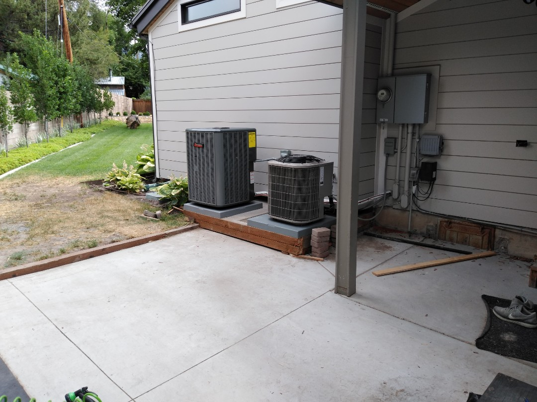 Holladay, UT - AC replacement call. Installing new Amana high efficiency furnace and AC