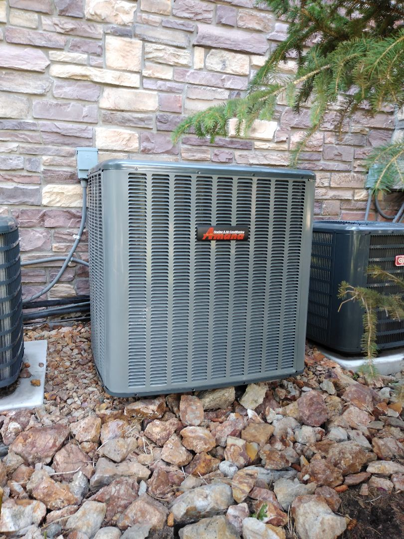 Midvale, UT - Installed new Amana AC and coil
