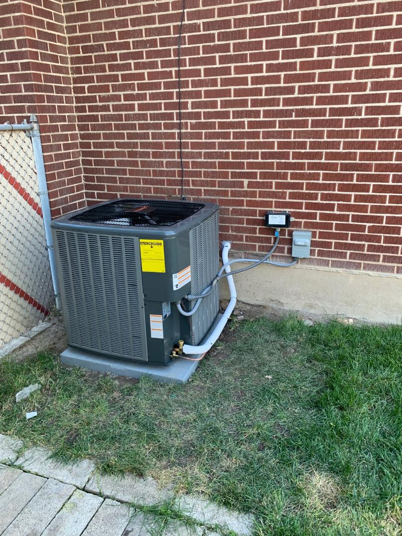 Midvale, UT - Installed new Amana furnace and Ac