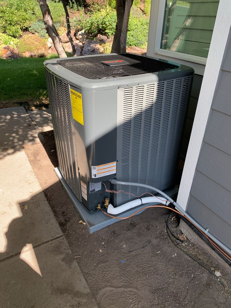 Murray, UT - Installed new Amana AC and coil