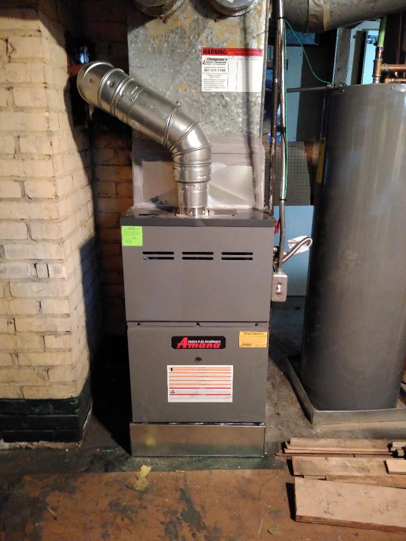 Salt Lake City, UT - Install new furnace