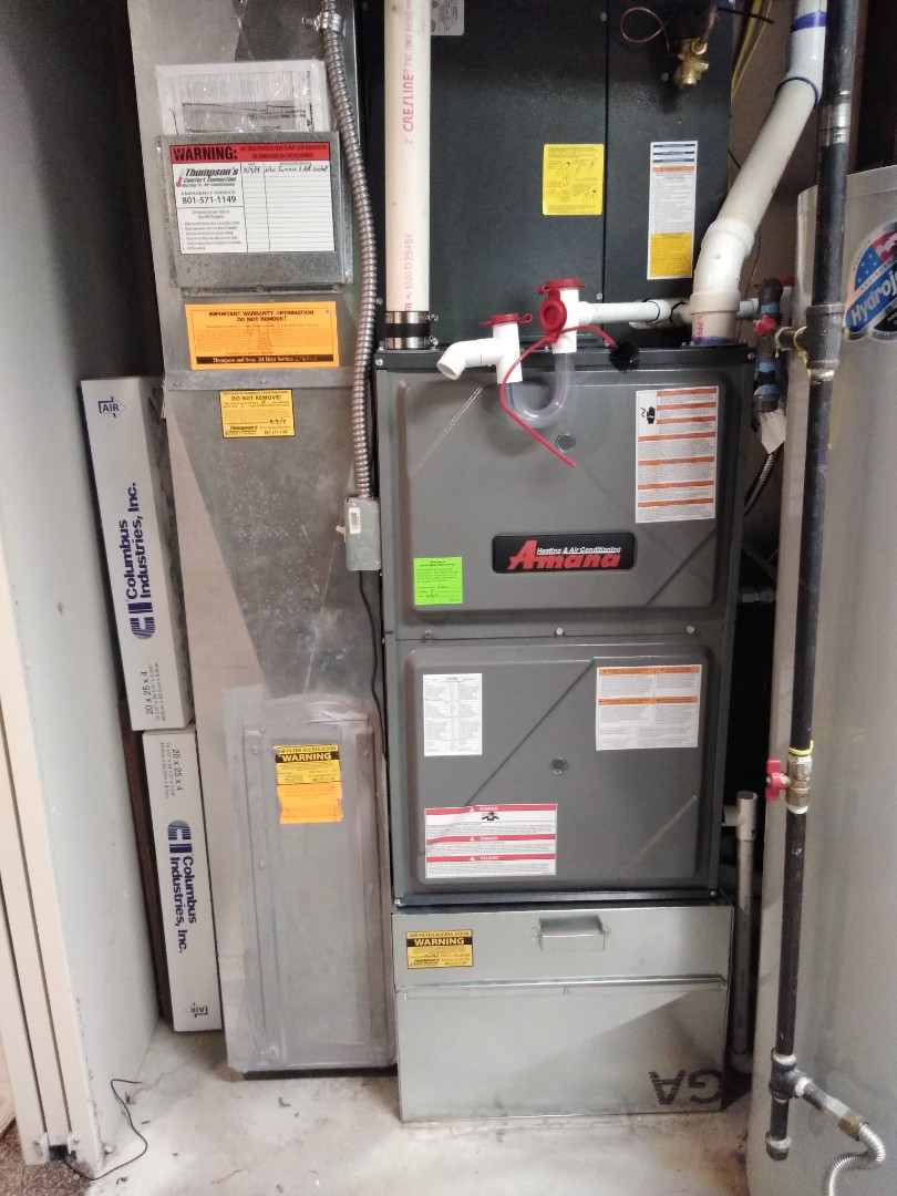 West Jordan, UT - Installed new furnace and AC