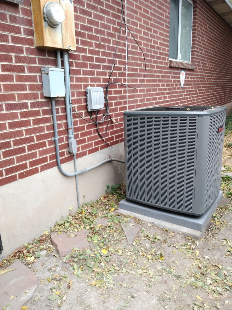 Installed new ac