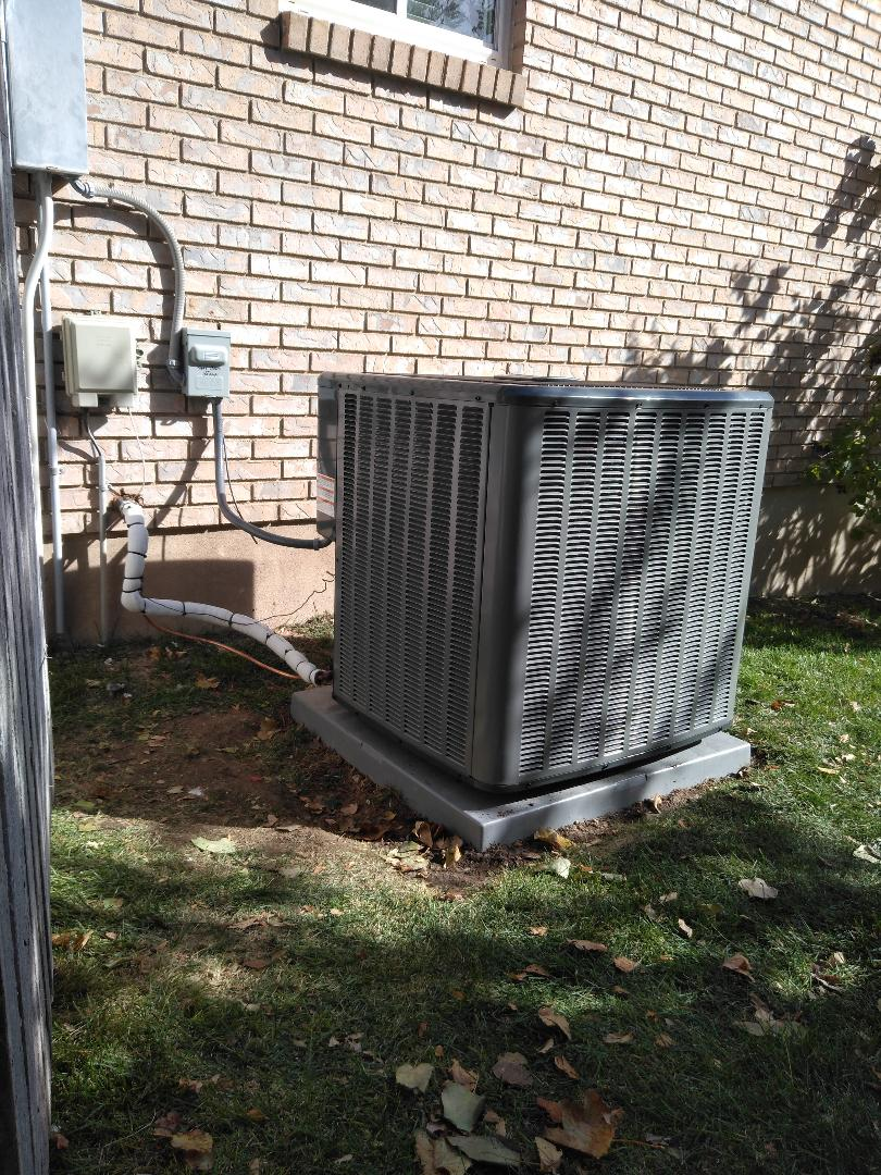 West Jordan, UT - Installed new amana AC and coil
