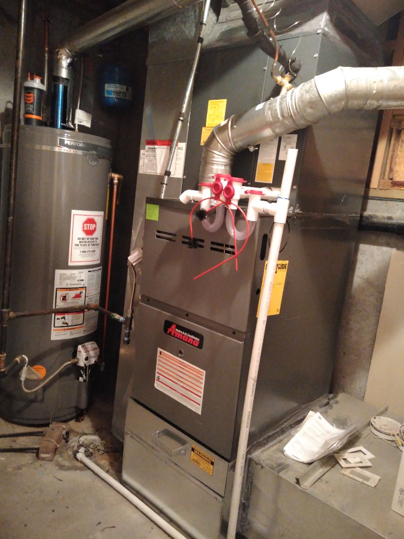 West Jordan, UT - Installed New Amana Furnace and Ac