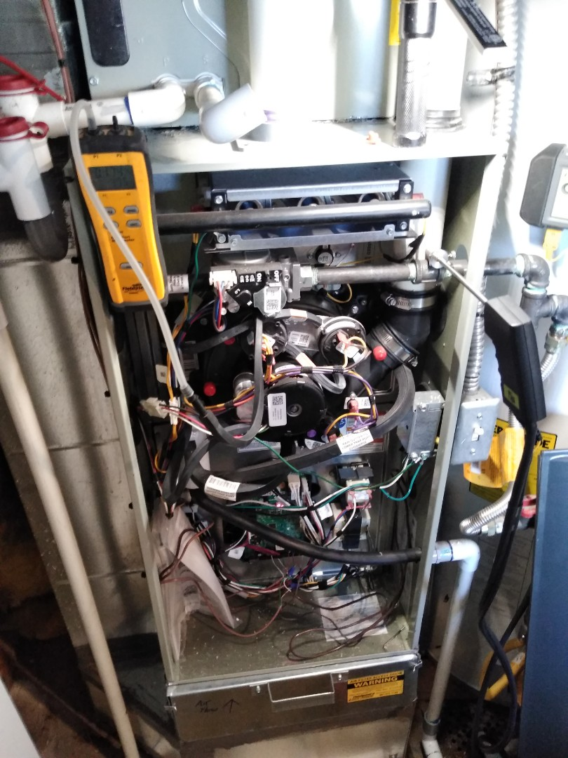 Cottonwood Heights, UT - Furnace Tune ups on an American standard and Bryant furnaces