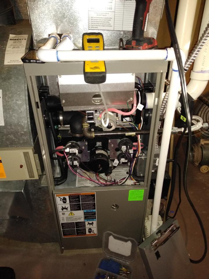 Salt Lake City, UT - Furnace tuneup on Lennox furnace