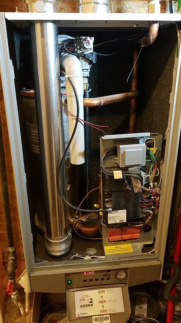 Salt Lake City, UT - Tune up on triangle tube boiler system
