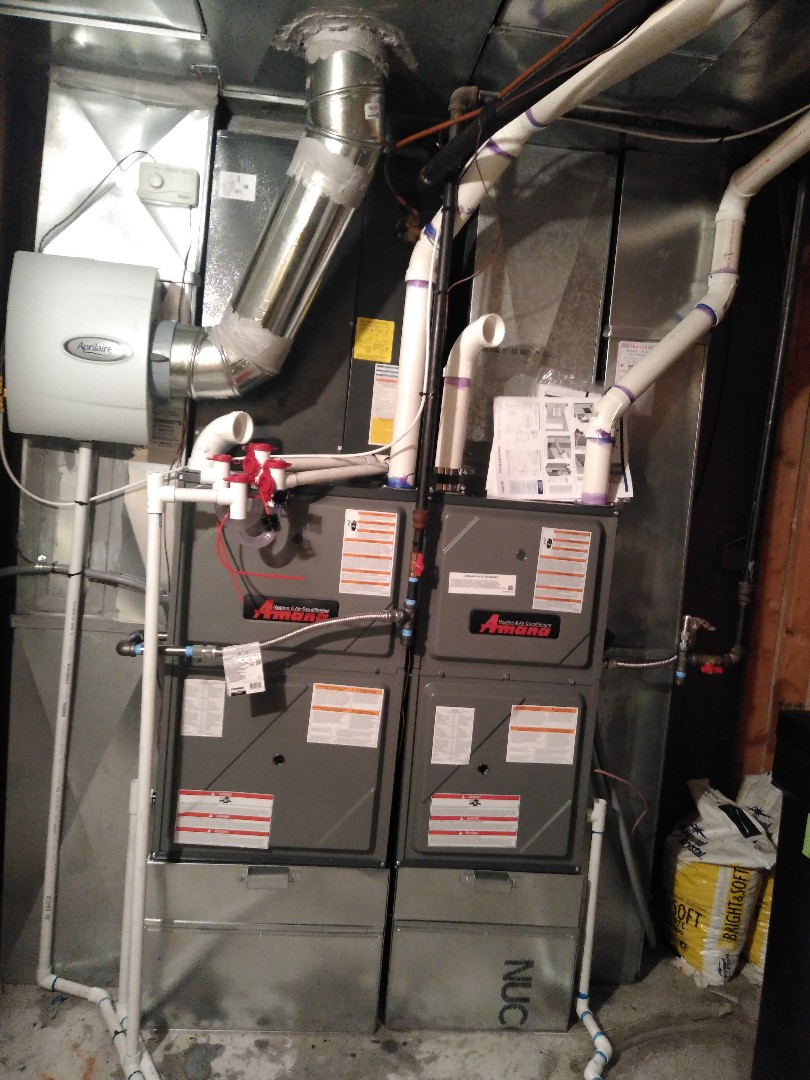 South Jordan, UT - Installed 2 furnaces new AC and a Humidifier