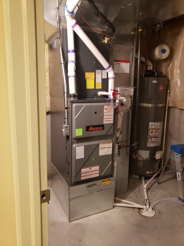 South Jordan, UT - Installed new Amana Furnace and AC