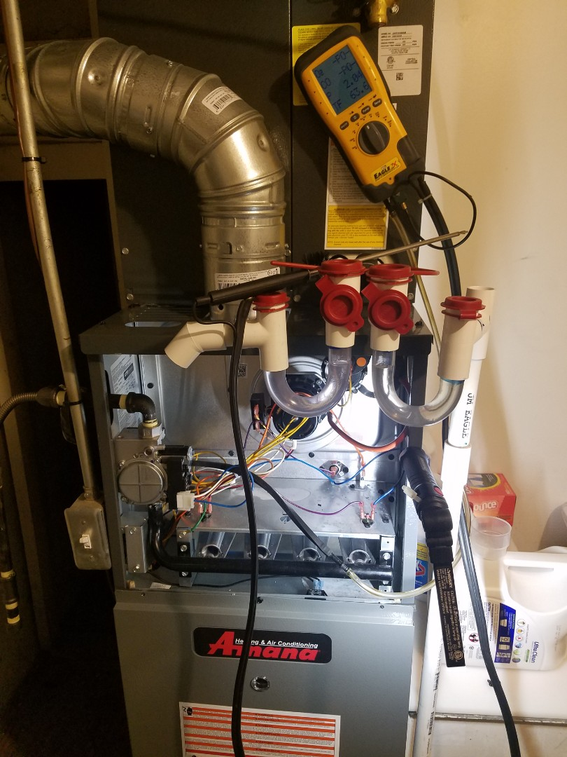 Holladay, UT - Furnace tuneup on Amana furnace