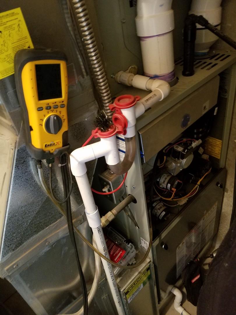West Jordan, UT - Furnace tuneup on American Standard furnace