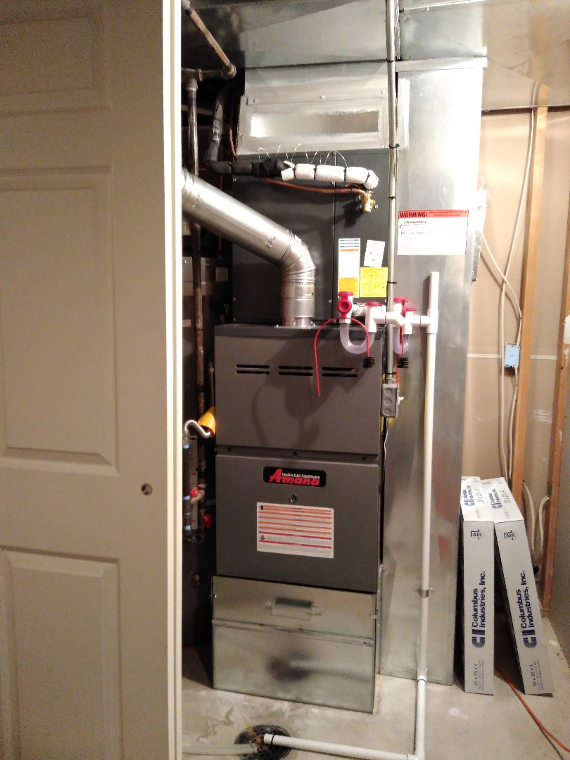 Draper, UT - Installed new Amana Furnace and AC