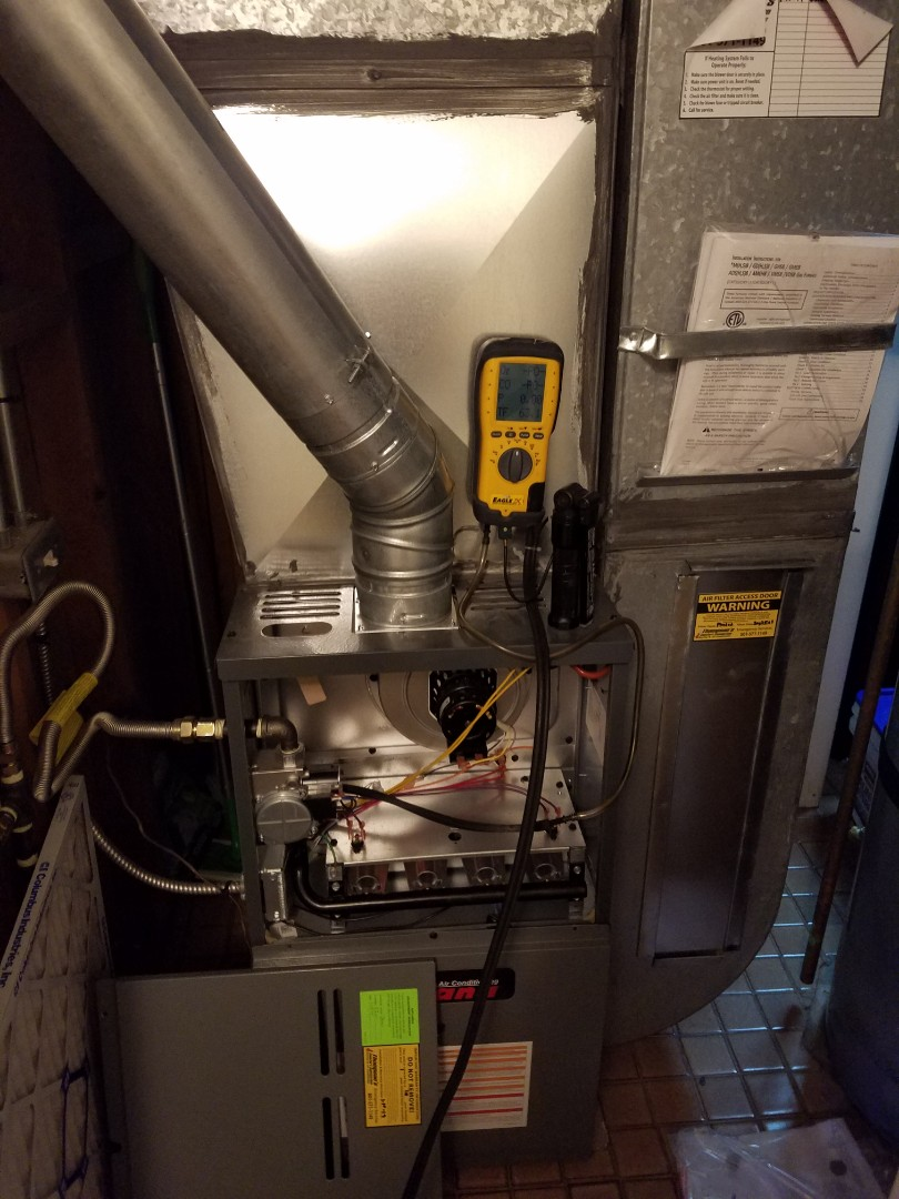 Murray, UT - Furnace tuneup on Amana furnace