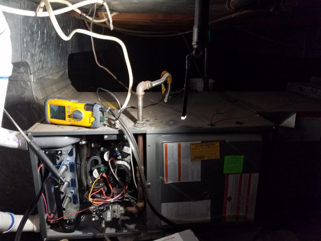 Draper, UT - Furnace tuneup on Amana furnace