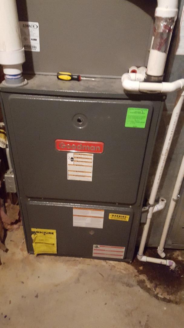 Sandy, UT - Repair on Goodman furnace