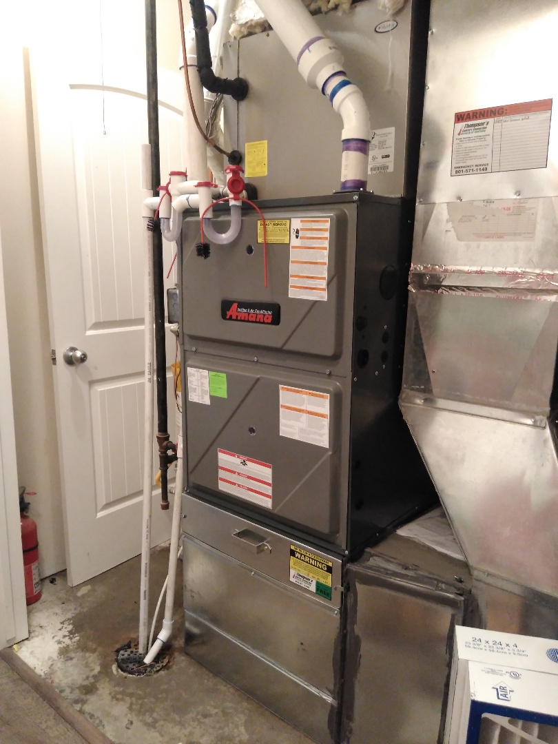 Lehi, UT - Installed new furnace