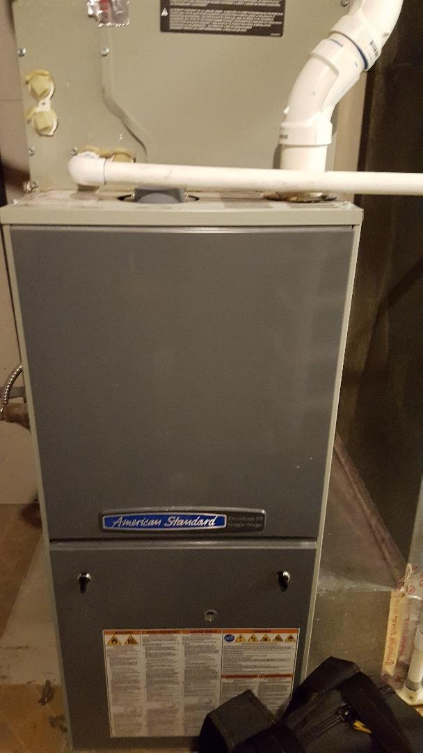 Salt Lake City, UT - Tune up on American standard furnace