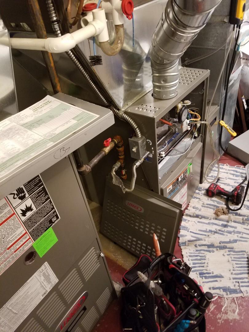 Salt Lake City, UT - Furnace tuneups on two Lennox furnaces and one Amana furnace