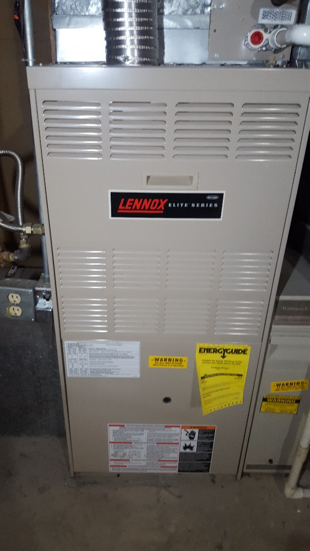Murray, UT - Repair and tune up on a Lennox furnace.