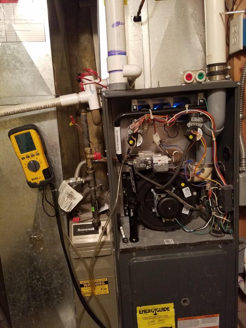 Salt Lake City, UT - Furnace tuneup on Goodman furnace