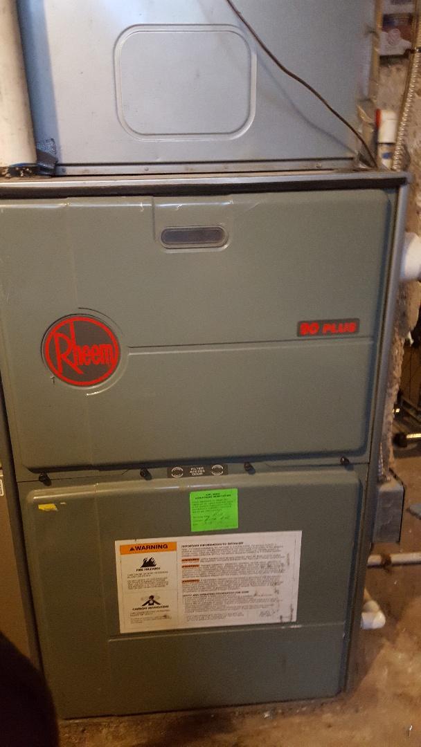 Salt Lake City, UT - Replaced circut board on Rheem furnace