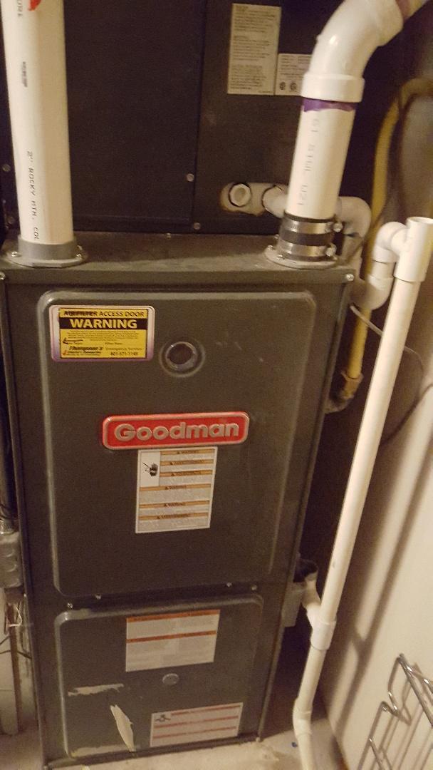Midvale, UT - Repair on Goodman furnace