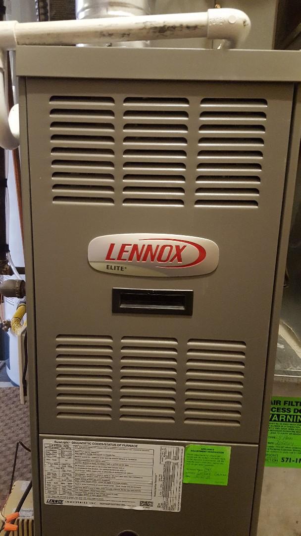 Midvale, UT - Tune up on lennox furnace