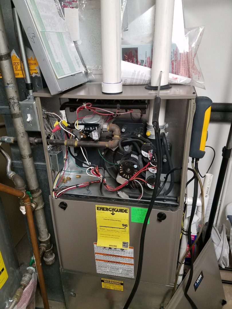Salt Lake City, UT - Furnace tuneup on York furnace