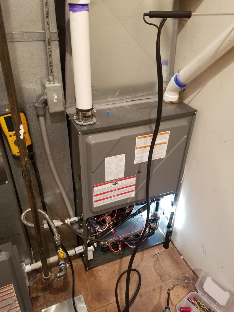 Salt Lake City, UT - Furnace tuneup on Amana furnace