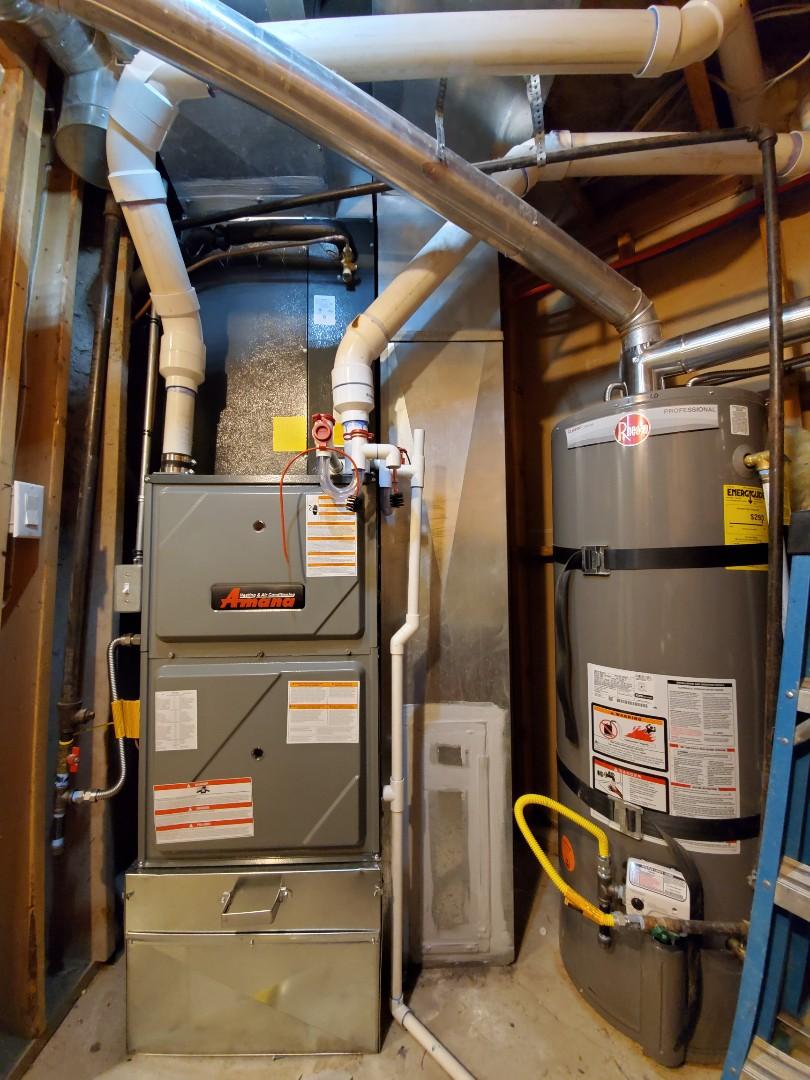 Midvale, UT - Install new Amana furnace