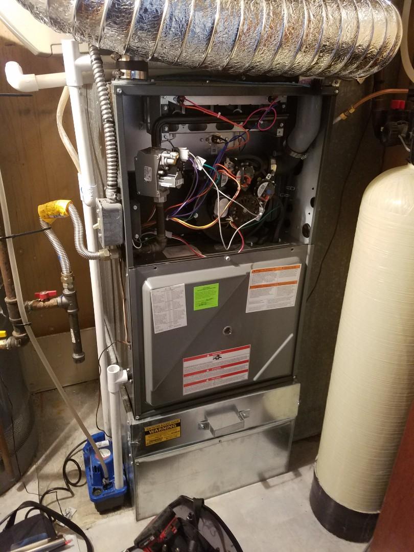 Bountiful, UT - Furnace tuneup on Amana furnace