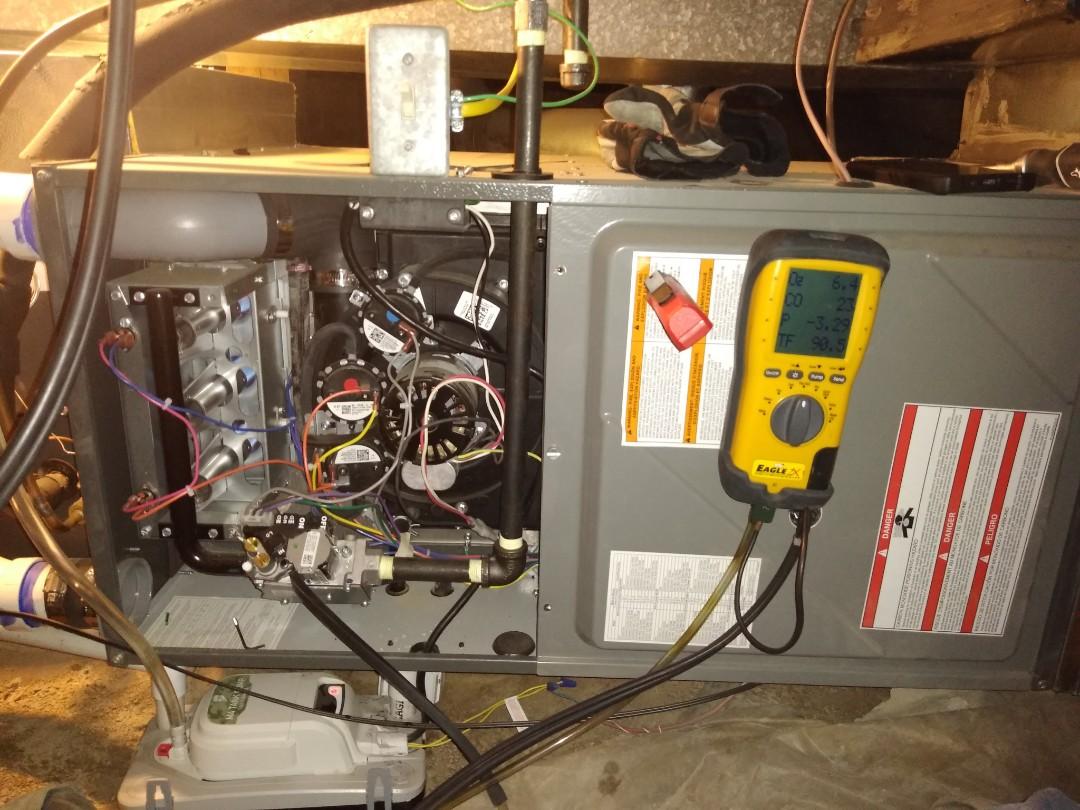 Midvale, UT - Furnace tune-up on Amana furnace
