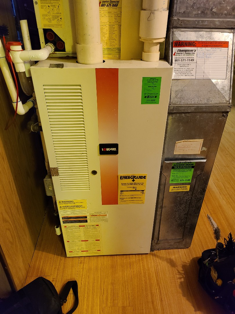 Midvale, UT - Furnace tuneup on Solitaire furnace
