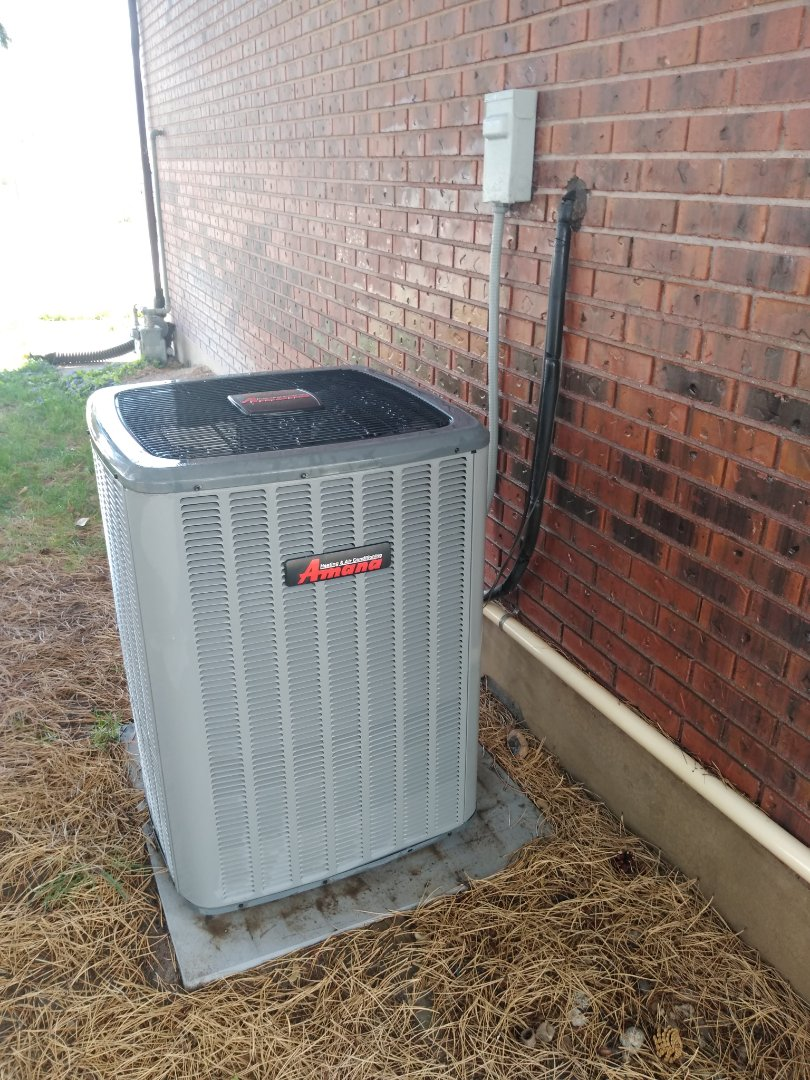 Riverton, UT - Air conditioning tune-up on Amana air conditioner