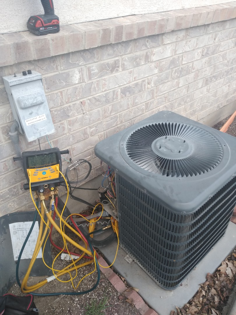 South Jordan, UT - Air conditioning tune-up on Goodman air conditioner