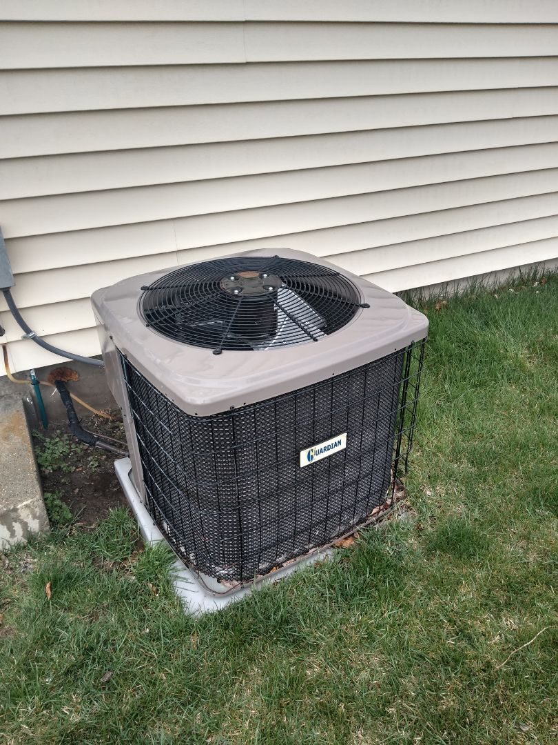 Air conditioning tune-up on Guardian air conditioner