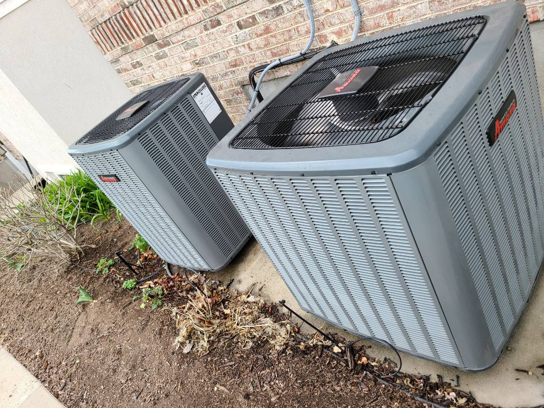 South Jordan, UT - Air conditioner tuneups on two Amana air conditioners